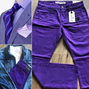 Purple Express Rocco Slim-Fit Jeans